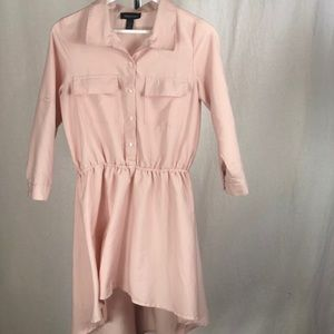 Seductions pink high-low shirt dress 🎊 🥂